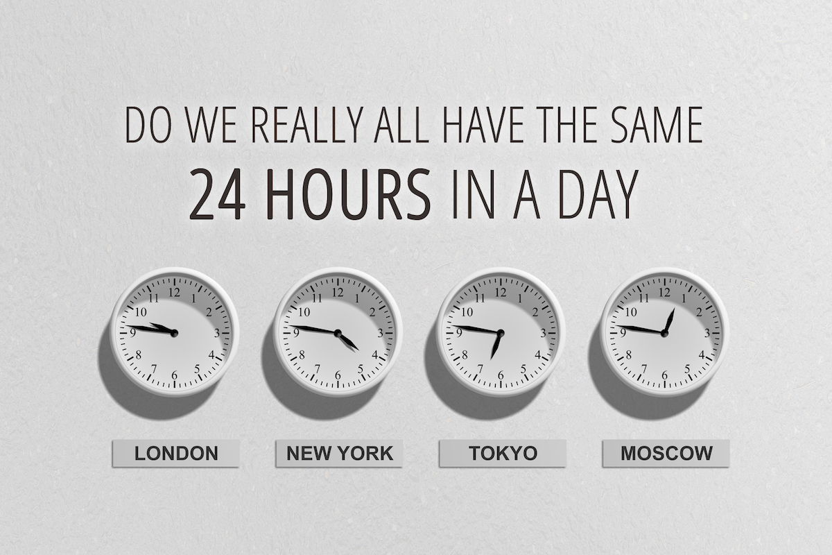 Do we really have the same 24 hours in a day