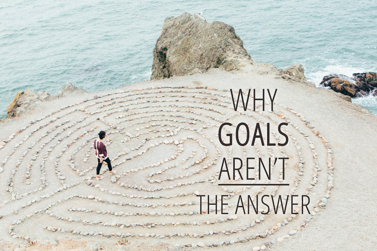 Why goals aren't the answer