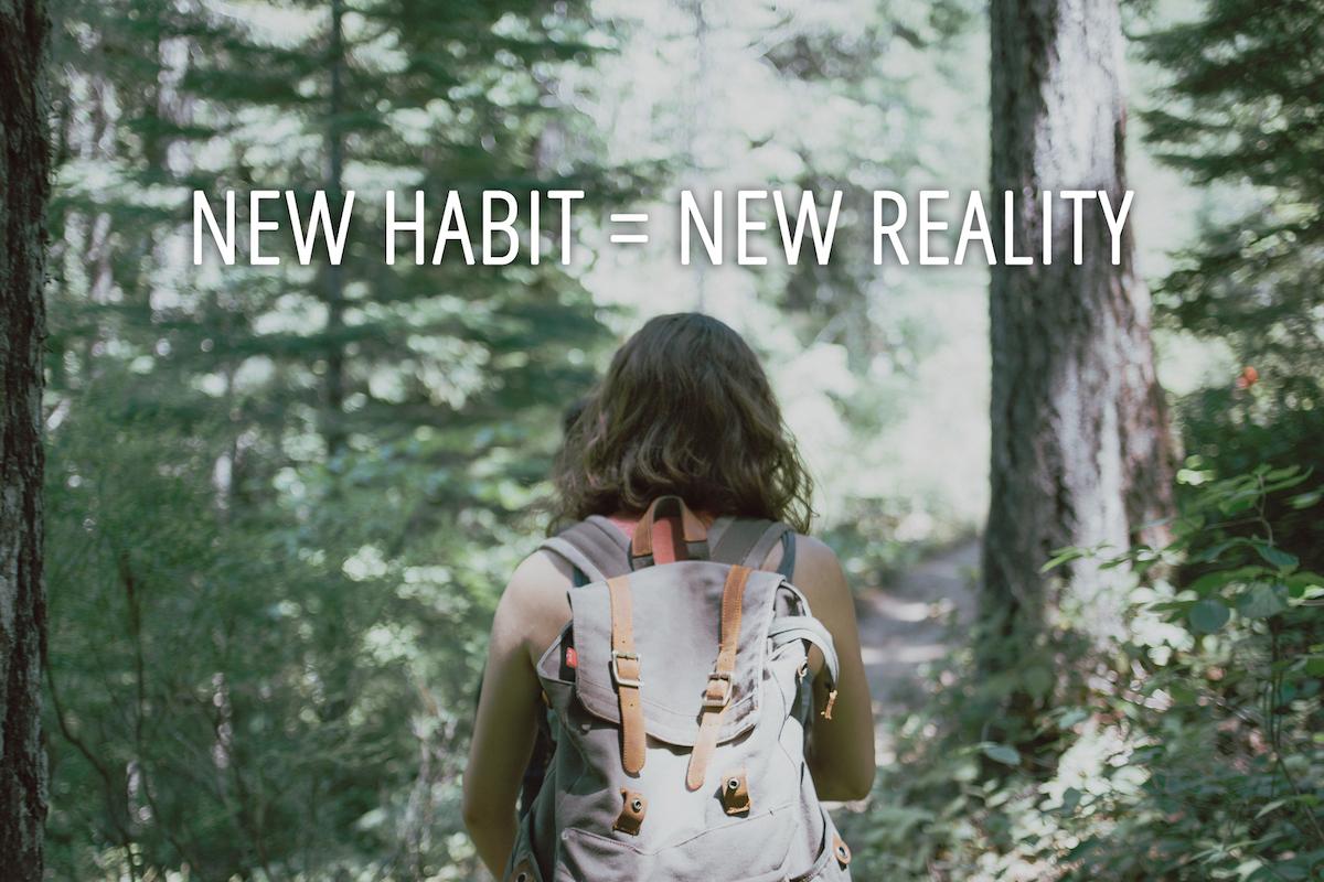 New habit new reality