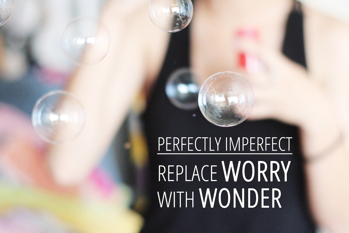 InstantPerfectly Imperfect: Replace Worry With Wonderly improve how you're feeling
